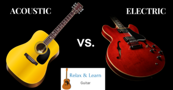 Why the acoustic guitar is better than the electric guitar